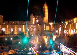 מופעי לייזר – יום ירושלים